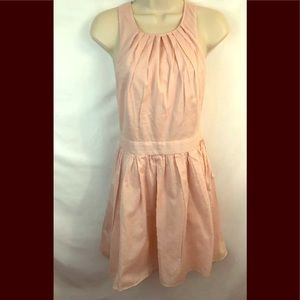 Express Pale Pink Short Dress Sz 4 Open Back